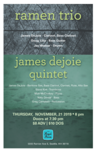 Ramen Trio & James DeJoie Quintet