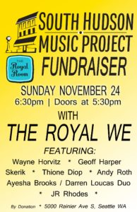 South Hudson Music Project Fundraiser
