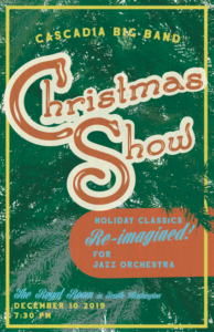 Cascadia Big Band Holiday Show