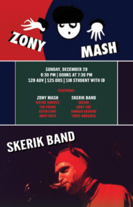 Zony Mash and Skerik Band