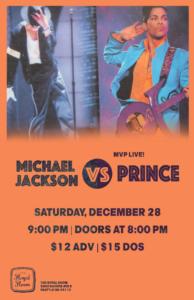MVP: Michael Jackson vs. Prince Live!