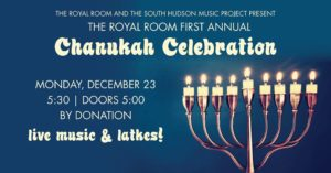 The Royal Room 1st Annual Chanukah Celebration
