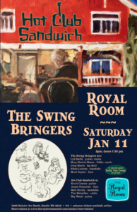 Hot Club Sandwich & The Swing Bringers