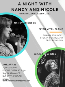 A Night with Nancy & Nicole: Original & Classic Jazz