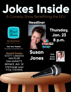 Jokes Inside: A Comedy Show Benefitting the EEU