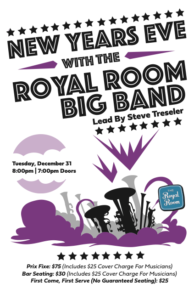 New Years Eve with the Royal Room Big Band