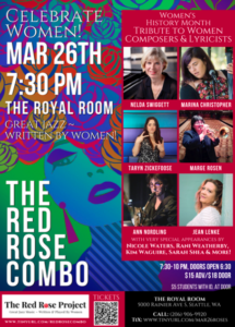 CANCELLED - Celebrate Women! w/ The Red Rose Combo