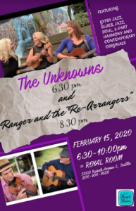 "A Swinging Night with the Unknowns and Ranger and ""The Re-Arrangers"""