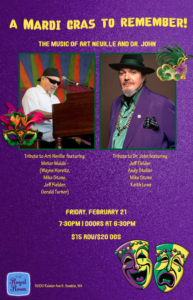 Mardi Gras in New Orleans: Dr. John and Art Neville