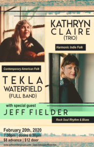 Kathryn Claire//Tekla Waterfield//Jeff Fielder