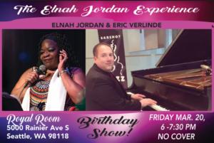 CANCELLED - The Elnah Jordan Experience Birthday Celebration