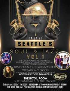 CANCELLED - Klyntel Presents.. . An Evening of Soul