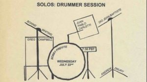 "The Royal Room Staycation Festival -""Solos: The Drummer Session"""