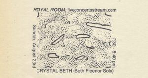 The Royal Room Staycation Festival - Crystal Beth: Solo