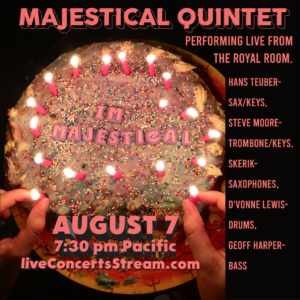 Live Stream - The Staycation Festival: Majestical Quintet
