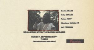 Boka Kouyate & The Djeliyah Band