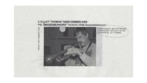 Jay Thomas' High Crimes and Misdemeanors - CD Release Party