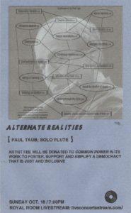 Alternate Realities Paul Taub, Solo Flute