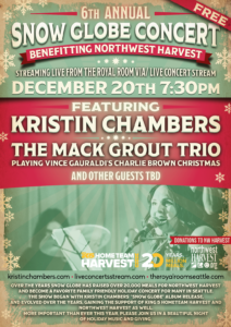 The 6th Annual Snow Globe: A Northwest Harvest Benefit Concert