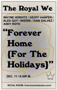 "- CANCELED - The Royal We ""Forever Home (For The holidays)"""