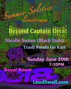 Staycation: Beyond Captain Orca/Trash Panda Go Kart/Nicolle Swims