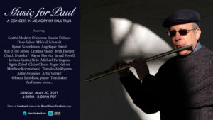 Music for Paul: A Paul Taub Memorial Concert