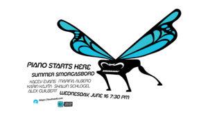 Piano Starts Here: Summer Smorgasbord