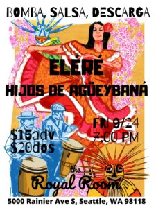 Bomba, Salsa, Descarga: Eléré & Hijos de Agüeybaná