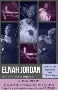 The Elnah Jordan Experience