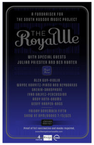 The Royal We with Julian Priester and Ben Hunter: A Fundraiser for the South Hudson Music Project