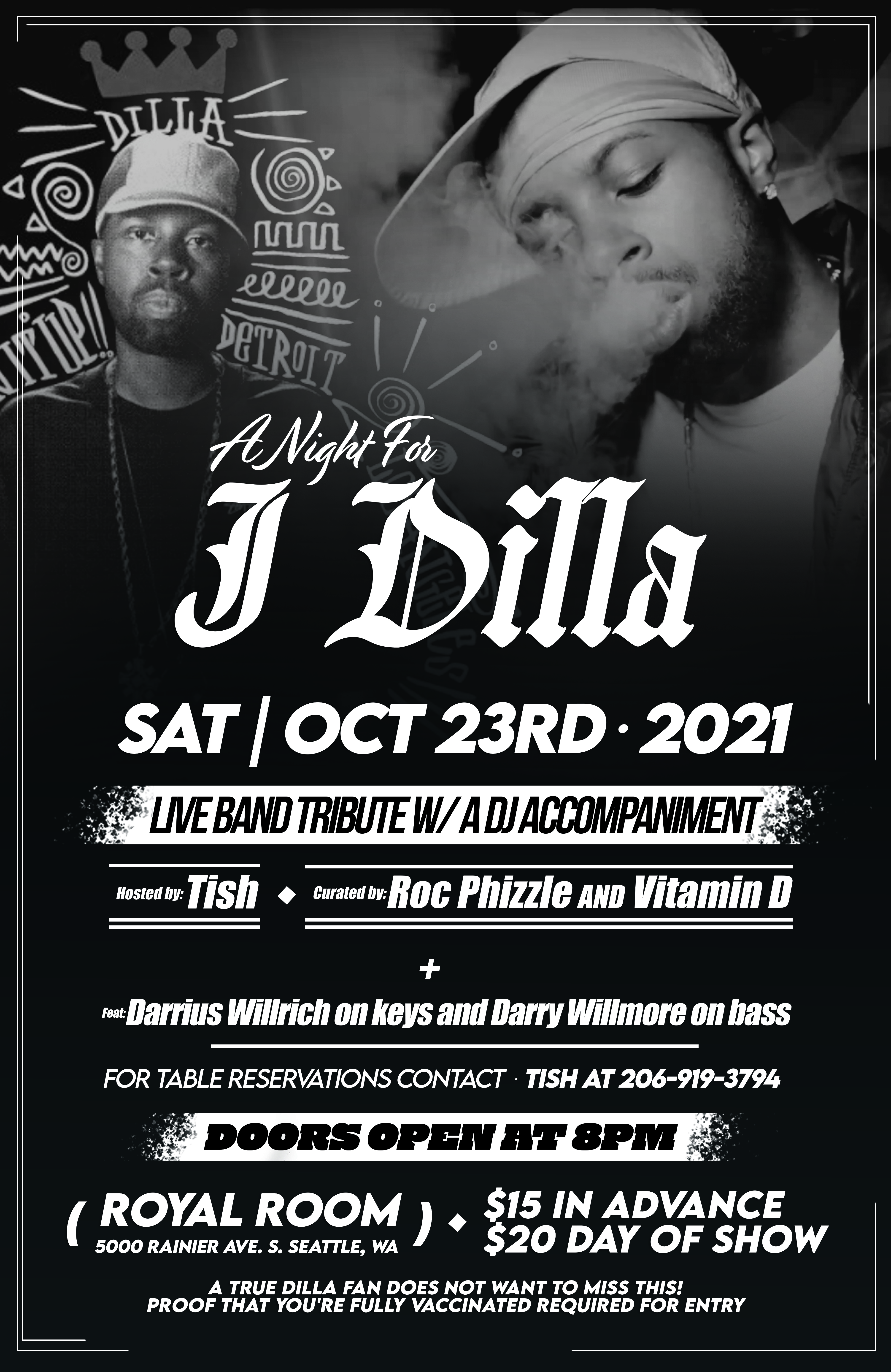 A Night for Dilla- Hosted by Tish