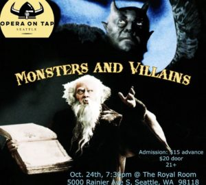 Opera on Tap: Monsters and Villains